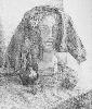 Колядко К. Натюрморт с гипсовой головой. Бумага,карандаш, 64х54, 2001 г.
