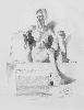 Рачицкий Д. Обнаженная женская фигура. Бумага, карандаш, 80х60, 1999 г.