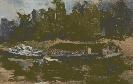 Вовба В. Пейзаж (лодки). Холст, масло, 1998 г.