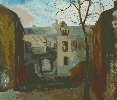 Позняк В. Городской пейзаж. Бумага, гуашь, 53х45, 2005 г.