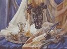 Седеневкая С. «Натюрморт». Бумага, акварель, 2003 г.