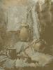 Гагашвили М. «Натюрморт». Бумага, акварель, 49х64, 2003 г.