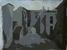 Позняк В. Городской пейзаж. Бумага, гуашь, 59х47, 2005 г.