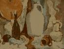 Хритонов С. Учебный натюрморт. Картон, масло, 2005 г.