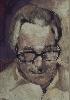 Рачицкий Д. «Портрет». Бумага, смешаная техника, 28х41, 1997 г.