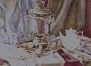 Седеневская С. «Натюрморт». Бумага, акварель, 48х66, 2003 г.