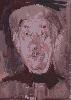 Юрьев С. «Портрет». Бумага, акварель, 30х43, 1998 г.