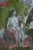 Очковская И. Сидящая женская обнаженная фигура. Холст, масло, 70х99, 2004 г.