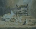 Борис Е. Натюрморт. Бумага, гуашь, 48,5х39, 2004 г.