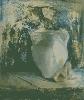Позняк В. Натюрморт с гипсовой вазой. Бумага, гуашь, 45х54, 2005 г.