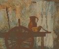 Позняк В. Натюрморт. Бумага, гуашь, 56х46, 2004 г.