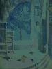 Позняк В. Интерьер. Бумага, гуашь, 44х56, 2005 г.
