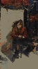 Рачицкий Д. «Сюжетная композиция». Холст, масло, 119х67, 1998 г.