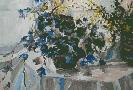Домашевич В. Натюрморт. Бумага, гуашь, 58х39, 2006 г.