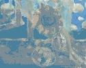 Очковская И. Серия работ «Натюрморт». Холст, масло, 64х55, 2005 г. (рук. Дулуб А.И.)