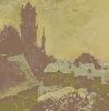Михеева Ю. «Пейзаж Гродно». Холст, масло, 2001 г. (рук. Покровский В.Н.)