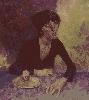 Рачицкий Д. Портрет современника. Холст, масло, 81х72, (рук. Дулуб А.И.)