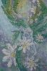 Маркевич Н.Серия работ «Метаморфозы», шёлк, роспись, 2008 г. (рук. Сидорович Ж.М.)
