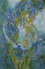 Маркевич Н. Серия работ «Метаморфозы», шёлк, роспись, 2008 г. (рук. Сидорович Ж.М.)